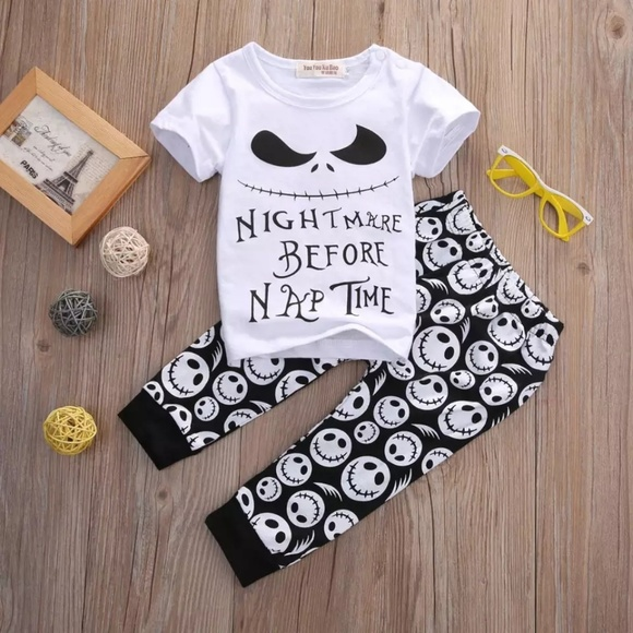 nightmare before christmas baby outfits
